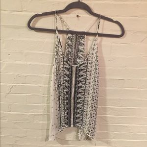 Open-back top from Urban Outfitters, Medium